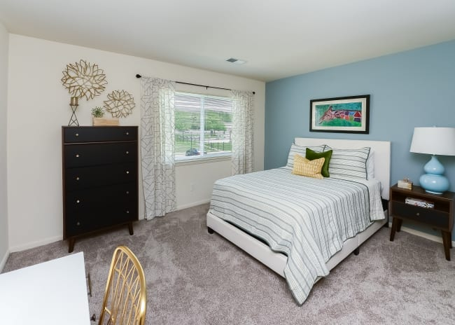 Bedroom at Marchwood Apartment Homes