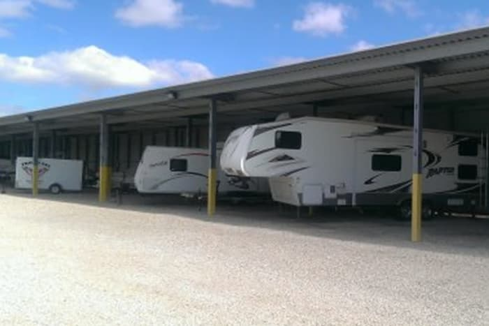 RV storage at Advantage Storage -  Stonebrook in Frisco, Texas