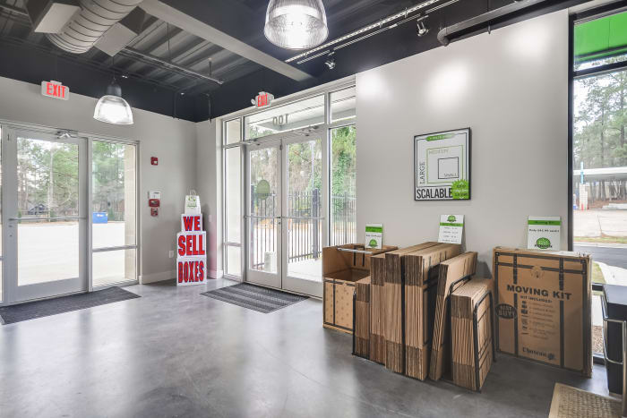Front office at Space Shop Self Storage in Smyrna, Georgia