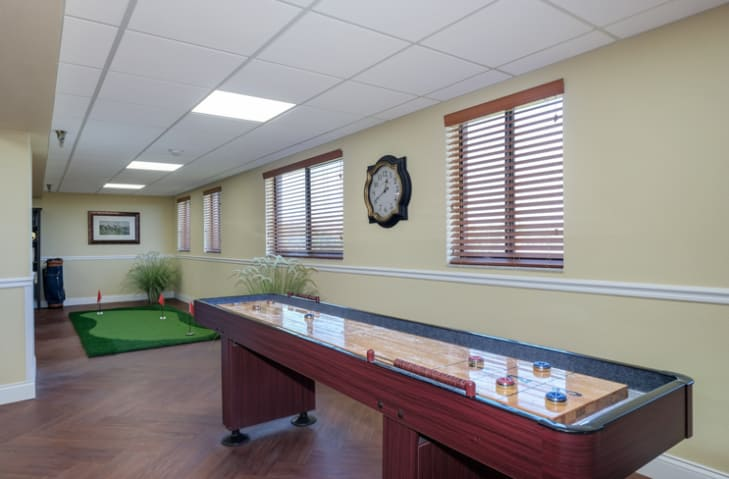 Game Room at Grand Villa of New Port Richey in New Port Richey, Florida