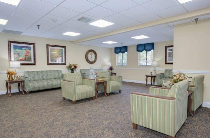 Common Room at Grand Villa of New Port Richey in New Port Richey, Florida