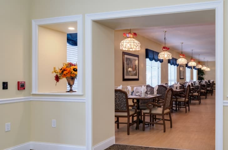 Dining Area at Grand Villa of New Port Richey in New Port Richey, Florida
