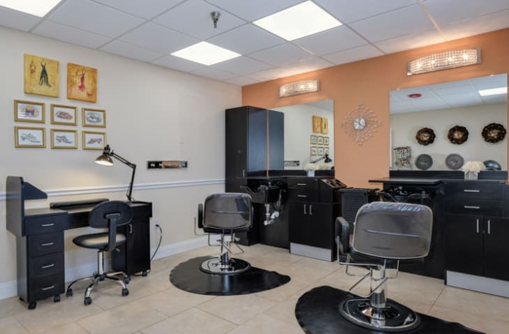 Spa & Salon at Grand Villa of New Port Richey in New Port Richey, Florida