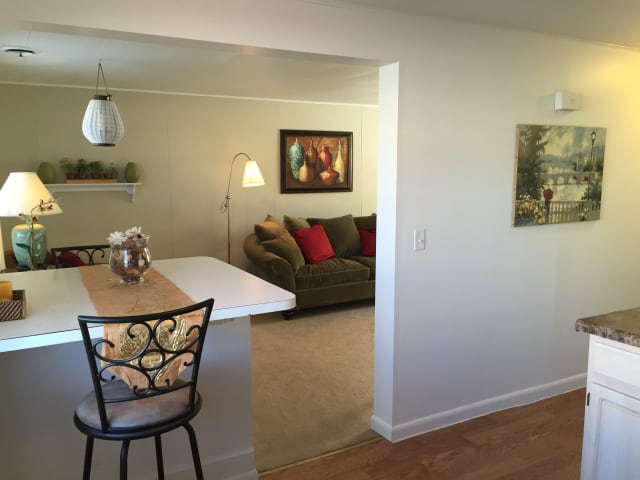 Dining room at Saddle Club Townhomes