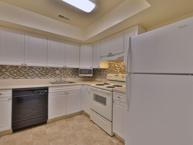 Spacious Kitchen at St. Mary's Landing Apartments & Townhomes