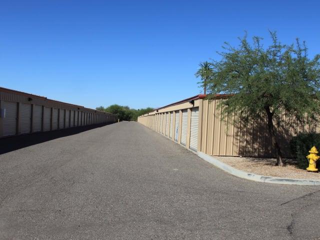Exterior storage units at Advantage Storage - Surprise in Surprise, Arizona