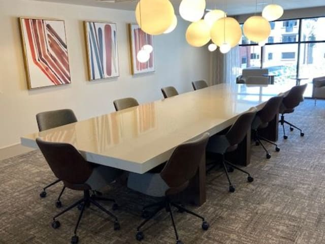 Conference Room At The District at Chandler In Chandler, Arizona