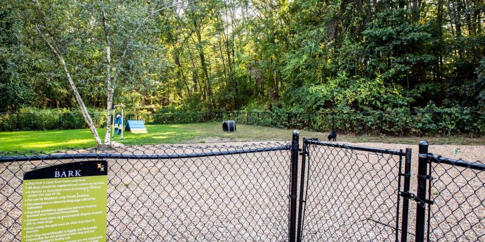 Dog park at Jefferson Hills Apartments