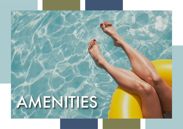 Learn more about the amenities at Cabana Club and Galleria Club in Jacksonville, Florida