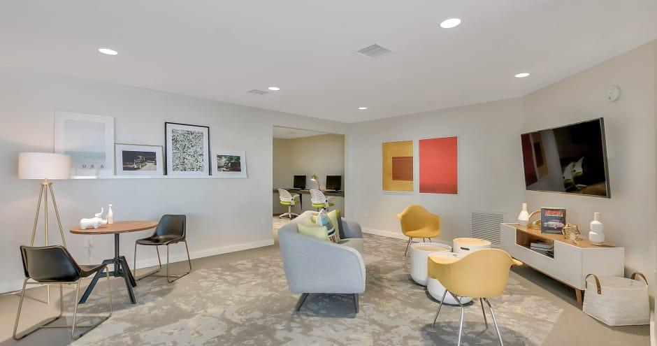Modern clubhouse at Sundance Apartments in Wichita, KS