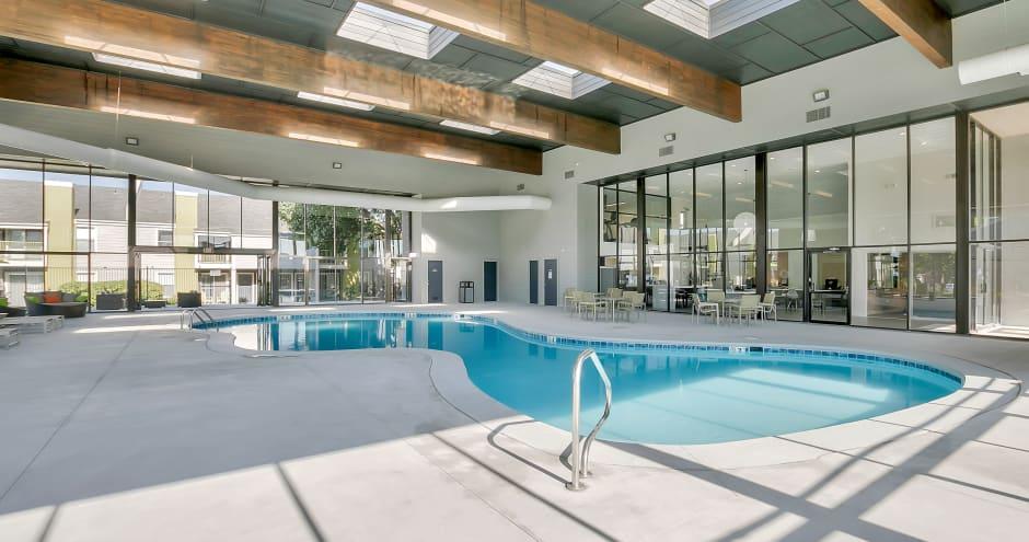 Swimming pool at Sundance Apartments in Wichita, KS