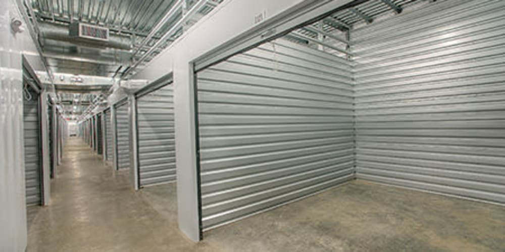 Indoor climate controlled units at StorQuest Self Storage in Littleton, Colorado