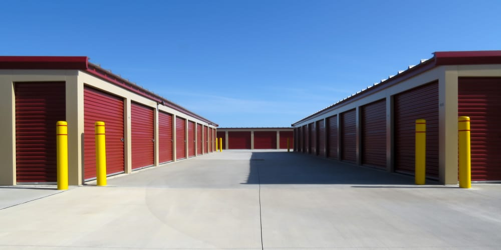 Self storage units at A Better Self Storage in Colorado Springs