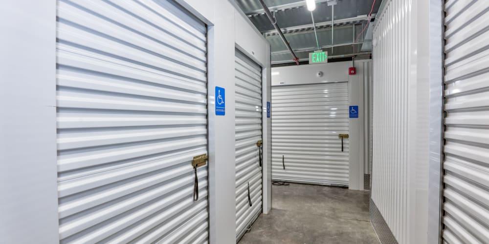 Interior units at StorQuest Self Storage in Aurora, Colorado