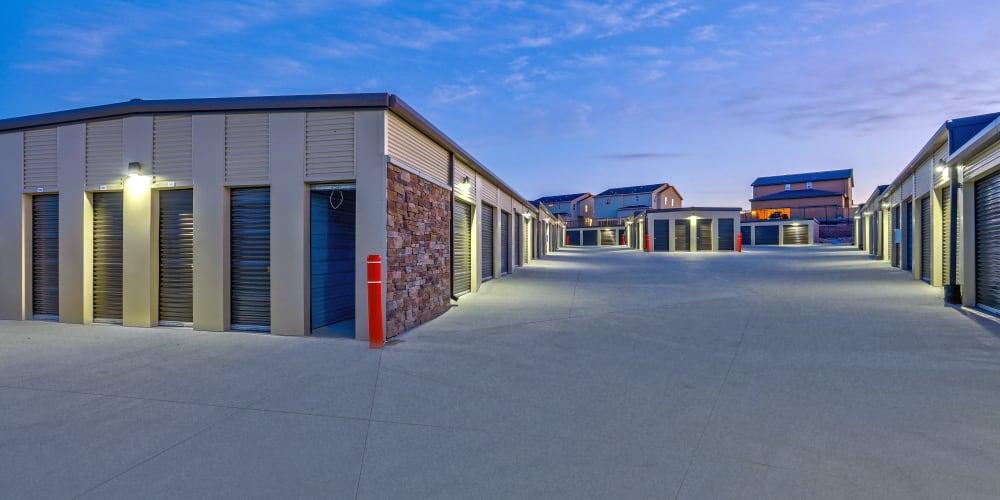 Exterior units at StorQuest Self Storage in Aurora, Colorado