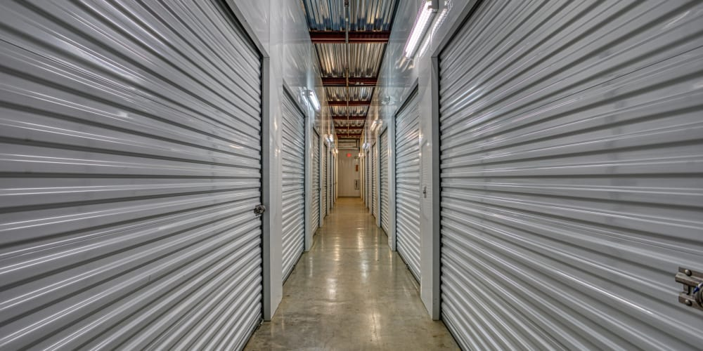 Climate-controlled storage options at Devon Self Storage in Fort Worth, Texas