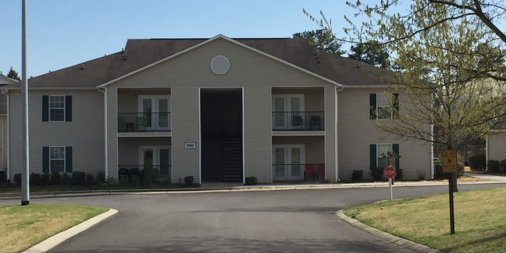 Exterior photo of Parktowne Apartments in Cleveland, Tennessee