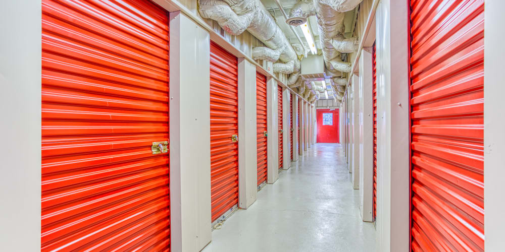 Climate controlled storage at Devon Self Storage in Cordova, Tennessee