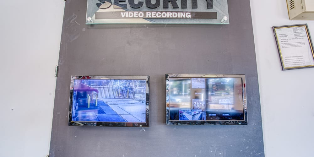 Video monitoring at Devon Self Storage in Memphis, Tennessee