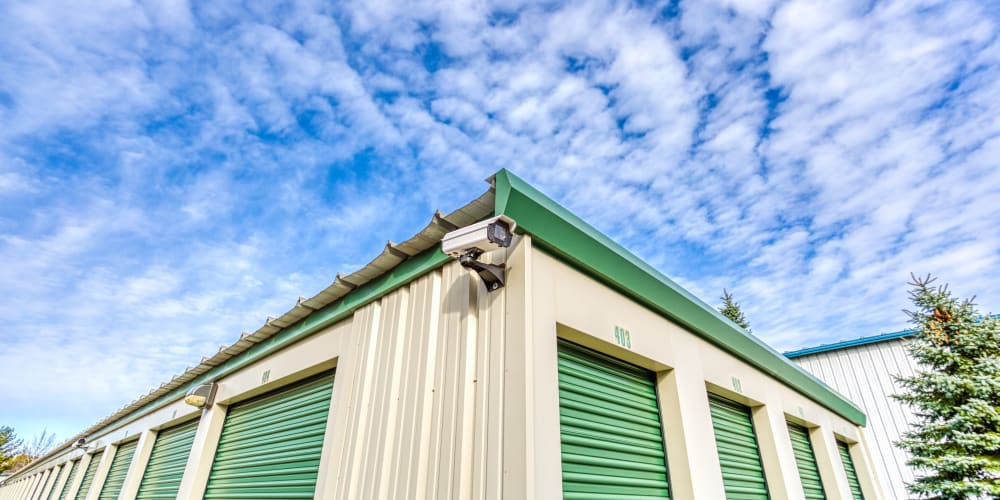 Video surveillance at Devon Self Storage in Holland, Michigan