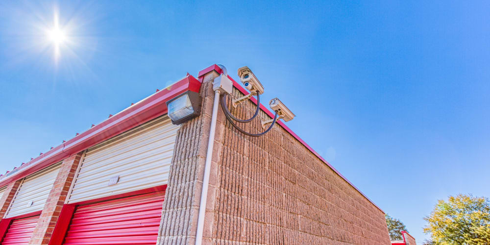 Video surveillance at Devon Self Storage in Memphis, Tennessee