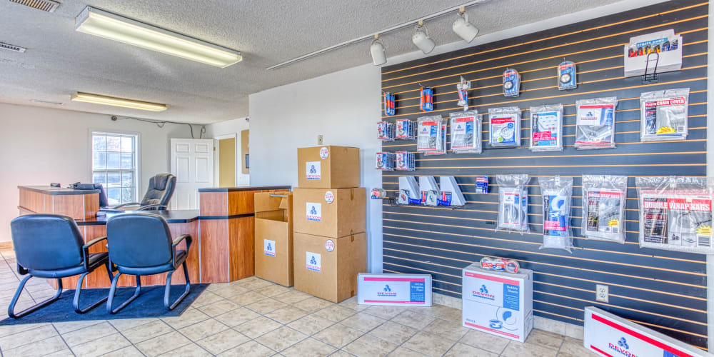 Moving and packing supplies at Devon Self Storage in Memphis, Tennessee