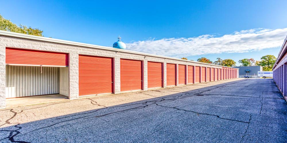 A variety of storage units at Devon Self Storage in Holland, Michigan