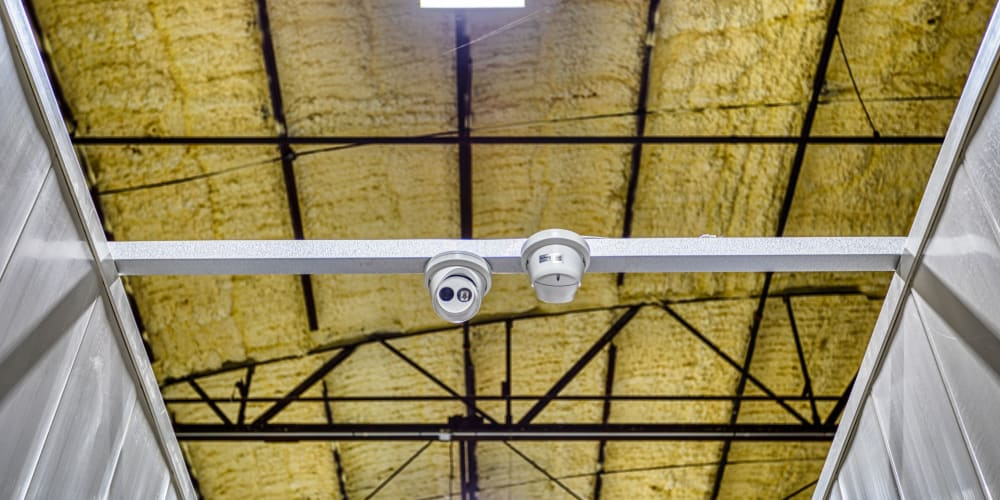 Video surveillance at Devon Self Storage in Davenport, Iowa
