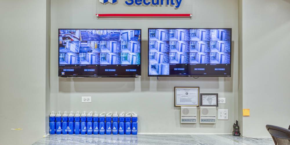 Surveillance monitoring at Devon Self Storage in Chicago, Illinois
