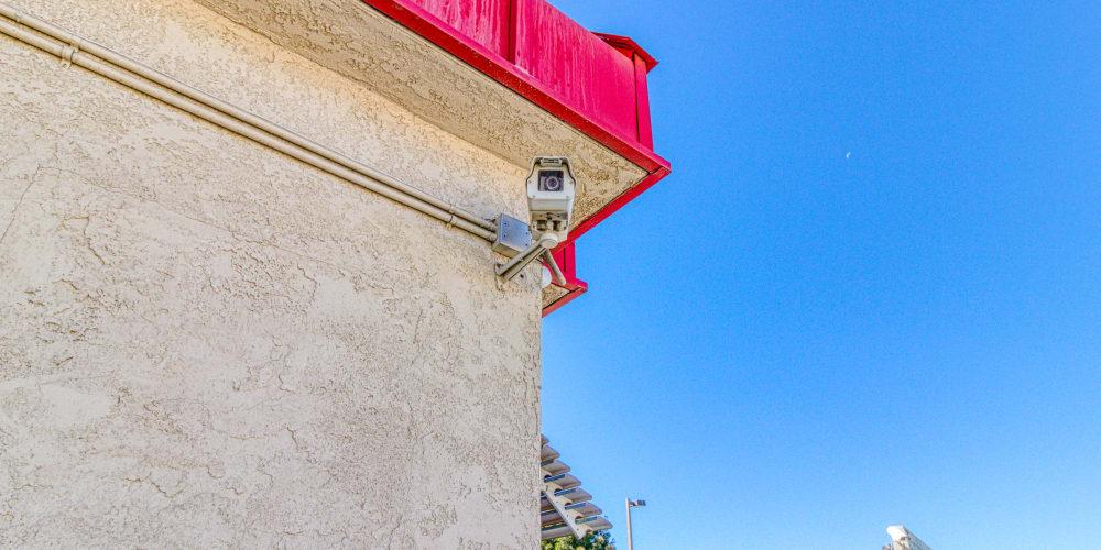 Surveillance camera at Devon Self Storage in Apple Valley, California