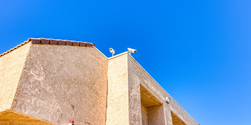 Video surveillance at Devon Self Storage in Palm Springs, California