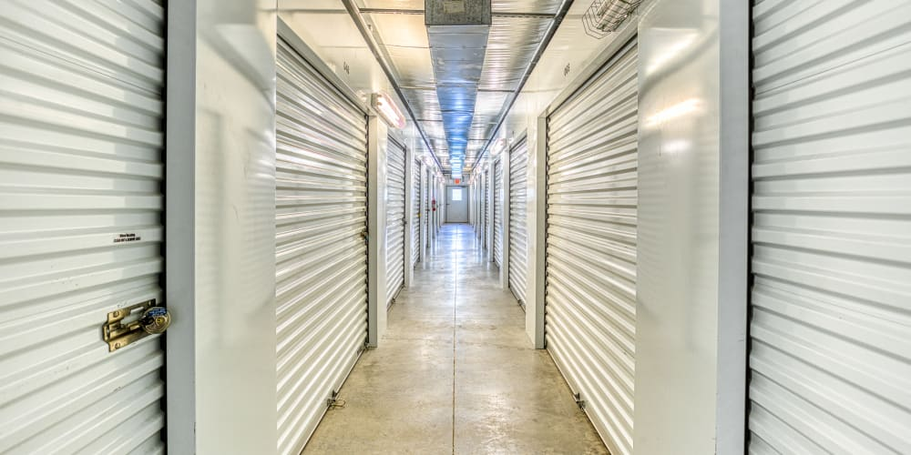Climate-controlled self storage units at Devon Self Storage in Spring, Texas