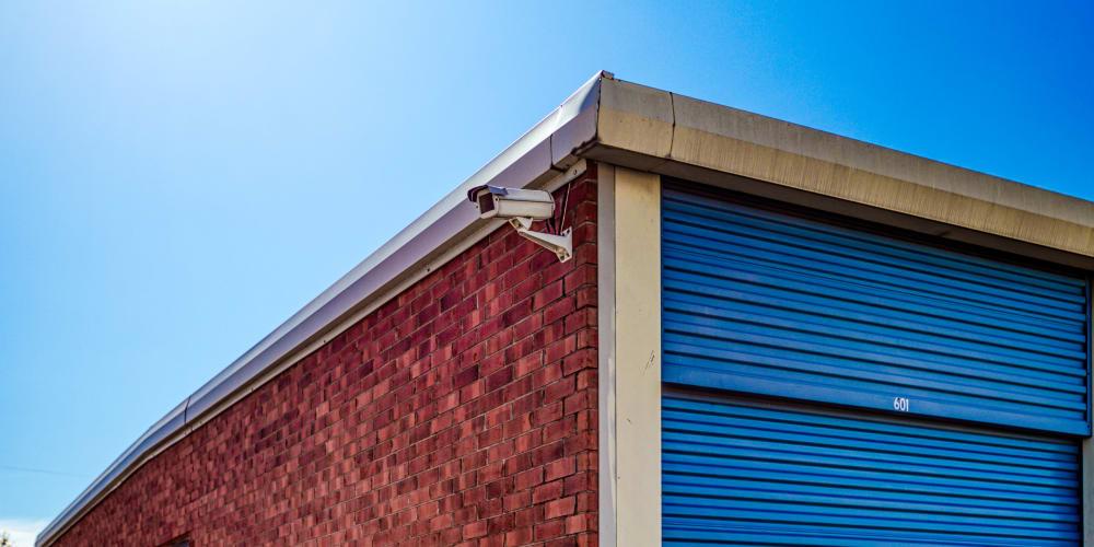 Video camera at Devon Self Storage in Sherman, Texas