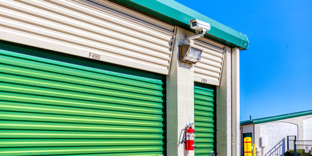 Video surveillance at Devon Self Storage in Sherman, Texas