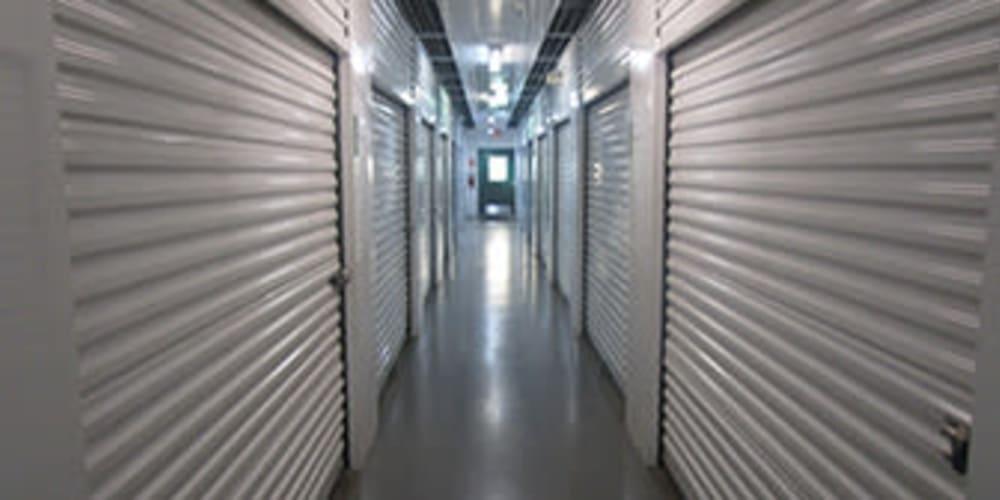 Interior storage units at Devon Self Storage in Sterling, Virginia