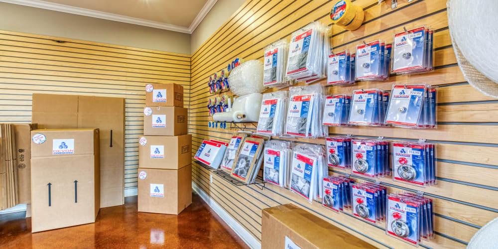 Packing supplies at Devon Self Storage in Fort Worth, Texas