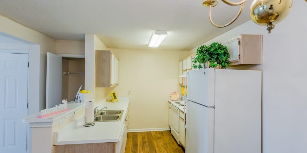 Large kitchen at The Retreat at Sherwood in Sherwood, Arkansas