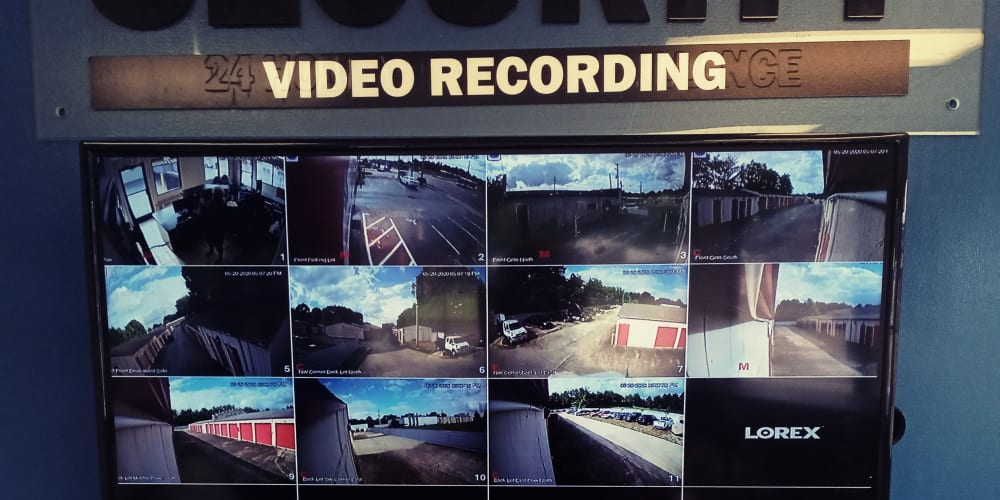 Video monitoring at Devon Self Storage in Memphis, TN