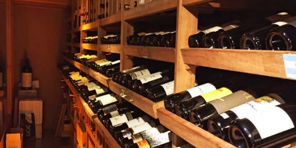 Wine storage at Devon Self Storage in Chicago, Illinois