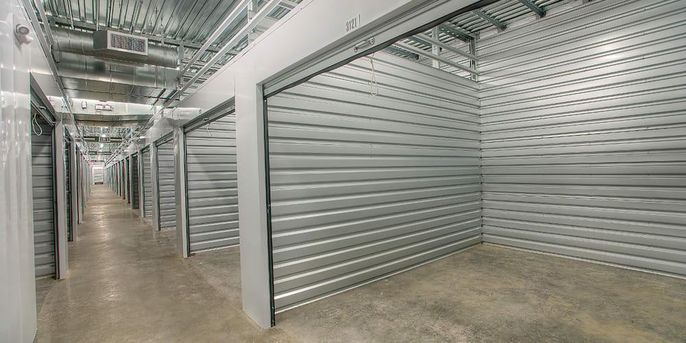 Open indoor units at StorQuest Express - Self Service Storage in Tahoe Vista, California