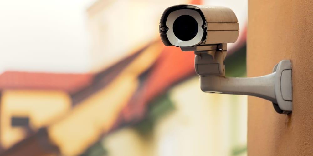 Video surveillance at Devon Self Storage in Grand Rapids, Michigan