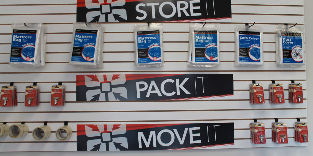 Packing supplies available at StorQuest Self Storage in Honolulu, Hawaii
