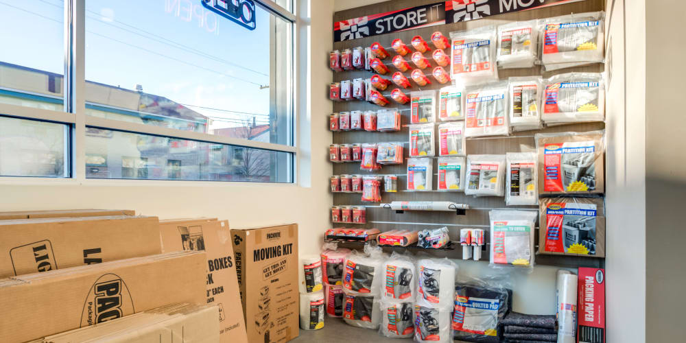 Packing supplies available at StorQuest Self Storage in Brooklyn, New York