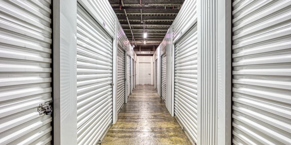 Climate-controlled storage units at Devon Self Storage in Charleston, South Carolina
