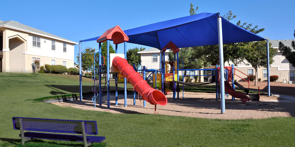 A kids playground at The Patriot Apartments in El Paso, Texas