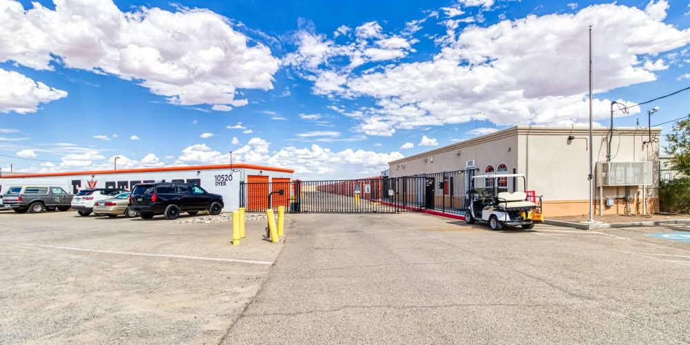 More parking at Armadillo Self Storage in El Paso, Texas