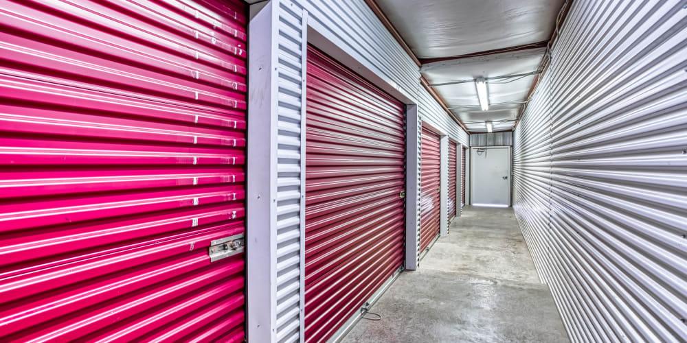 A hallway at Secure Storage in Murfreesboro, TN