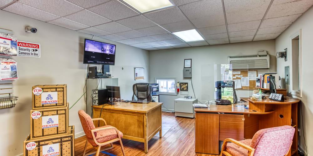 Office interior at Secure Storage in Murfreesboro, TN