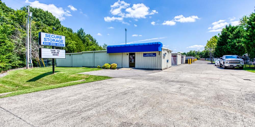 Parking lot at Secure Storage in Murfreesboro, TN