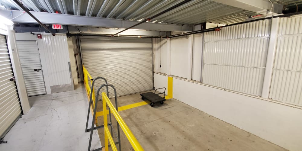 Loading area at Devon Self Storage in Charleston, South Carolina